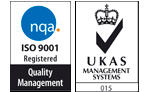 Logo Nqa ISO 9001 Quality Management (UKAS Accredited)